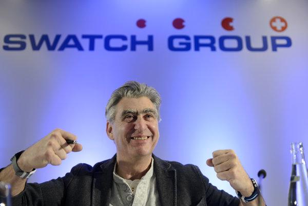 Šéf Swatch Group Nick Hayek