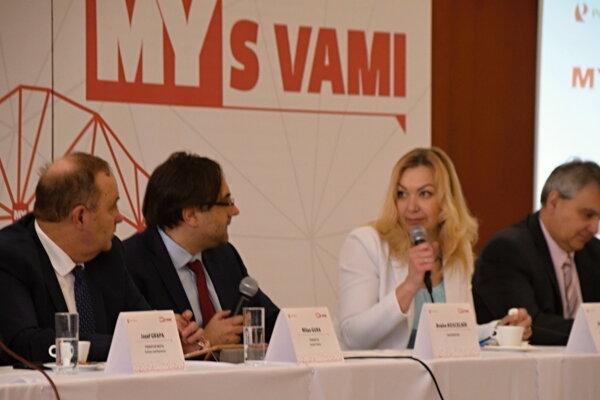 Diskusná relácia MY S VAMI na tému Smart cities na Kysuciach.