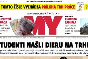 Vychádza nové číslo MY Novohradských novín.