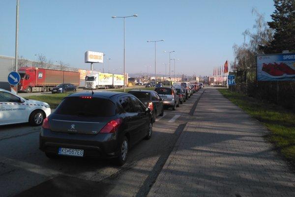 Ranná situácia v Košiciach.