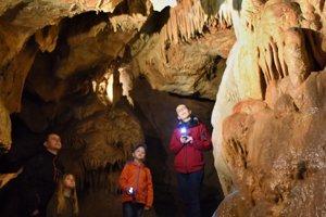 Driny sú jedinou sprístupnenou jaskyňou na západnom Slovensku.