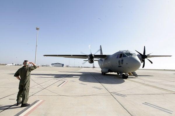 Nové dopravné lietadlo C-27J Spartan.