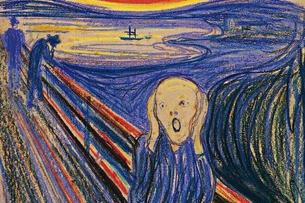 Prečo má dnes toľko ľudí strach? (Edvard Munch – Výkrik.)