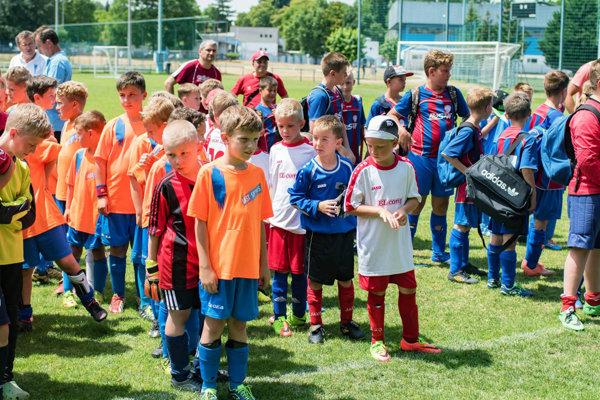 Aj najmenší futbalisti do 9 rokov sa dočkajú svojho turnaja.
