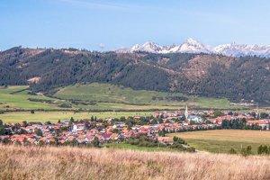 Obec Spišské Bystré.
