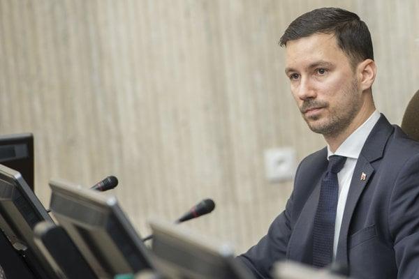 Štátny tajomník ministerstva zahraničných vecí a európskych záležitostí SR Lukáš Parízek.