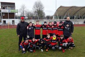 Mladší žiaci MŠK Púchov U 12 vyhrali turnaj v Nemecku.