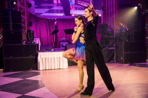Spoločenské tance - tanečníci Oto Dokoupil a Martina Lisá