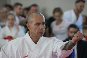 Rastislav Miklič. Zasvätil karate celý svoj život.