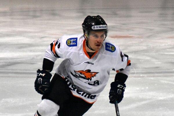 Marek Mašlonka strelil dôležitý gól.