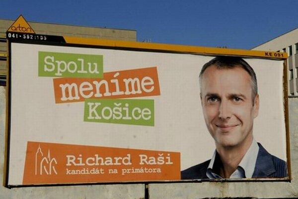 Richard Raši – voľby 2014.