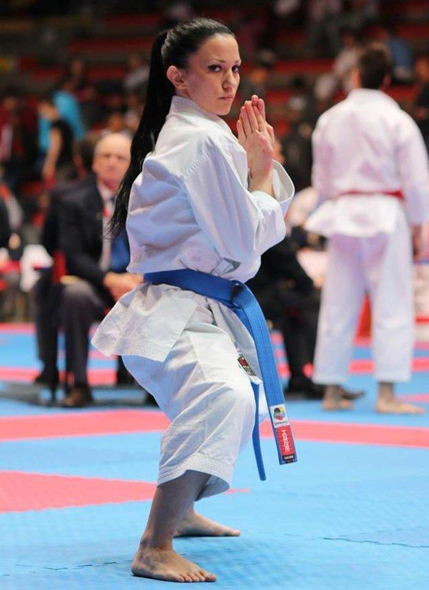 Po dobrom výkone nakoniec rozhodcovia rozhodli v neprospech Alžbety Ovečkovej na Karate 1 Premier League v marockom Rabate.