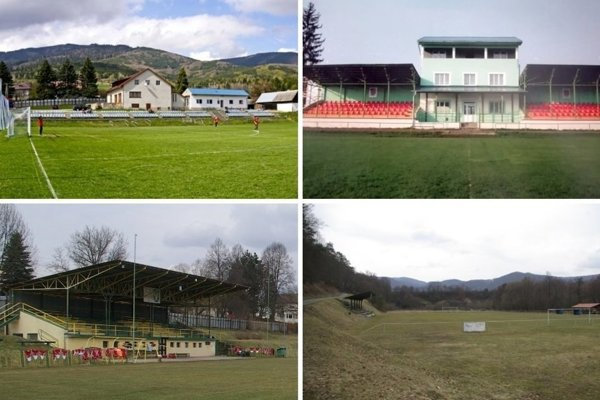 Zaujímavosti ukrývajú viaceré stredoslovenské štadióny na dedinách.