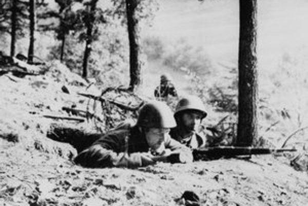 Z bojov povstaleckých jednotiek Československej armády v povstaní.