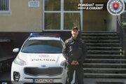 Všímavý policajt z Vrútok.