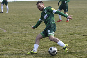Peter Katona, hráč 1. FC Tatran Prešov.