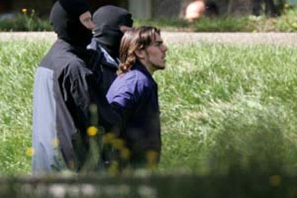 Jeden z troch moslimských teroristov zatknutých v Nemecku.