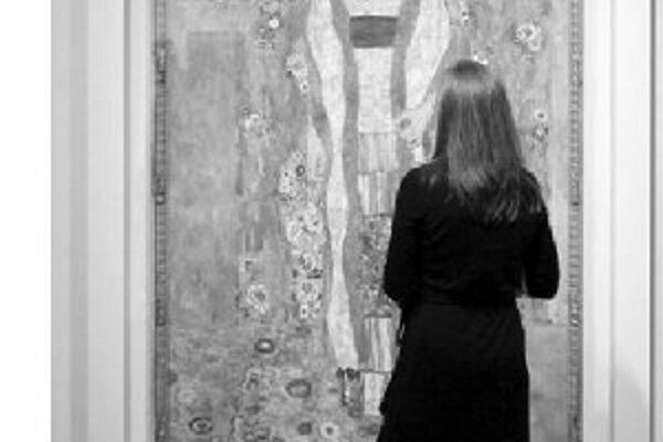 V tom období vo Viedni rastie vplyv expresívneho umenia Gustava Klimta.
