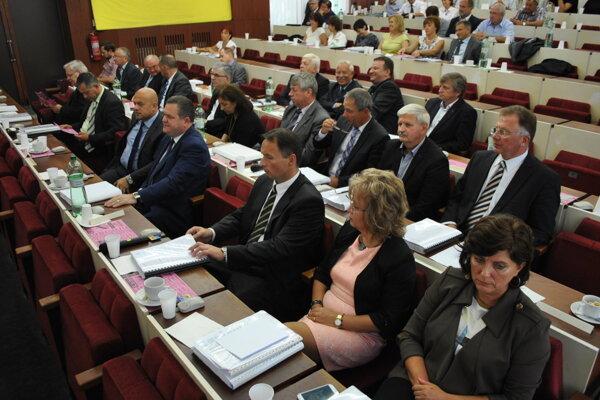 Michalovskí poslanci.
