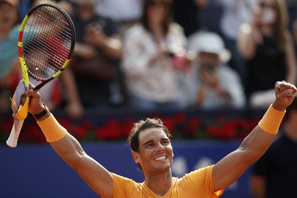 Rafael Nadal postúpil v Barcelone do finále.
