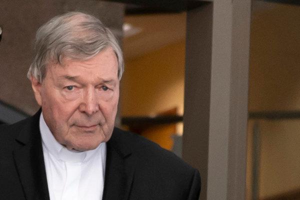 Austrálsky kardinál George Pell.