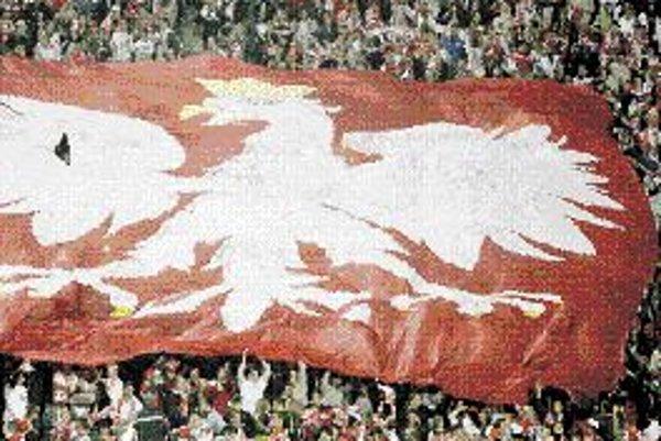 Poľská zástava.