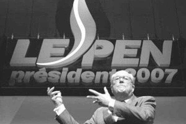 Hlavný porazený francúzskych prezidentských volieb – Jean-Marie Le Pen.