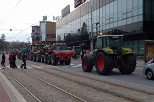 V Košiciach budú v piatok protestovať iba farmári.