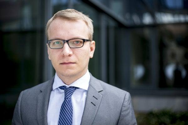 Partner advokátskej kancelárie Taylor Wessing Ján Lazur, ktorý sa venuje problematike ochranných známok, patentov a dizajnov.