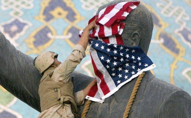 Saddáma Husajna v Iraku nahradili konfesionálne marionetky a krajina dnes de facto neexistuje.