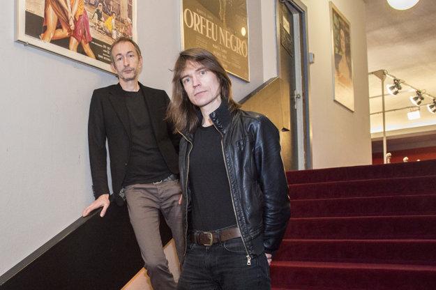 Mat Osman aNeil Dodling na filmovom festivale vRotterdame.