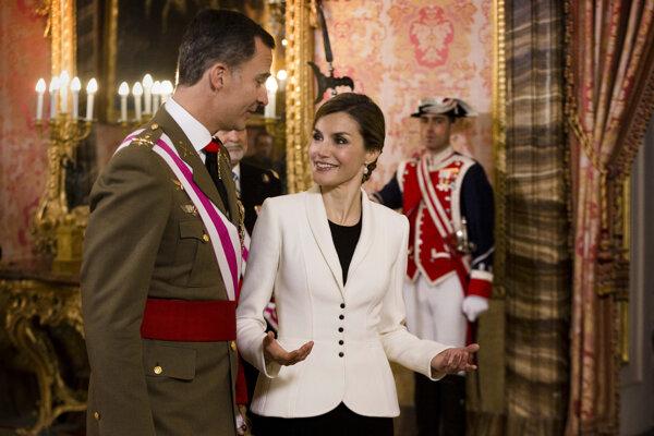 Španielsky kráľ Filip VI. a kráľovná Letizia.