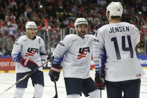 USA potvrdili proti domácemu Dánsku skvelú formu na šampionáte.