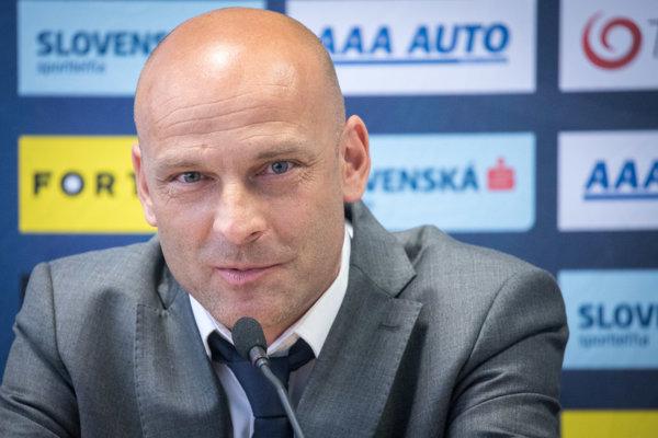 Nový tréner slovenskej futbalovej reprezentácie do 21 rokov Adrián Guľa.
