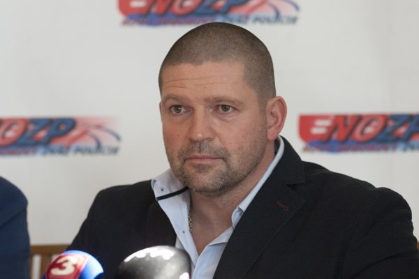 Nový odborový zväz polície Vojtech Klučarovský.