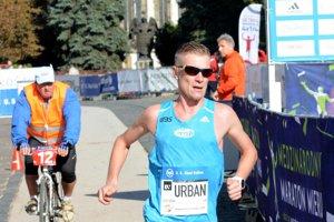 Jozef Urban na vlaňajšom košickom maratóne.