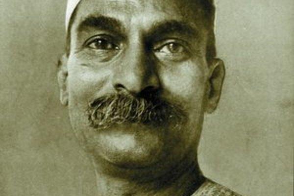 Prvý indický prezident Rádžendra Prasád.