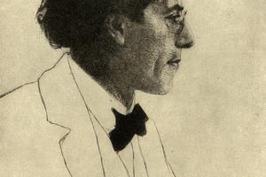 Gustav Mahler skladal pre veľké orchestre.