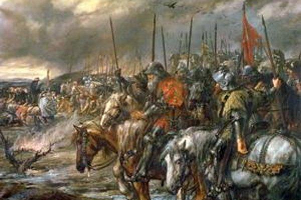 Bitka pri Azincourte.
