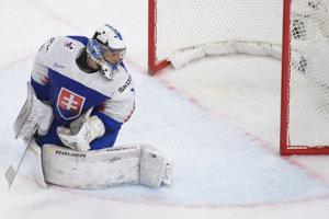 Marek Čiliak inkasuje gól v zápase proti Francúzsku. Našťastie, dostal iba jeden.