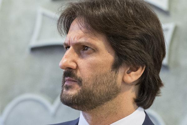 Bývalý minister vnútra Robert Kaliňák.