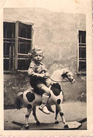 Jozef Klein ako dieťa
