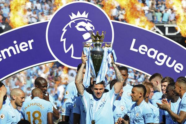 Manchester City ovládol v sezóne 2017/2018 Premier League.