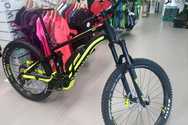 V širokej ponuke NIKASPORT-u nájdete aj tento elektrobicykel značky GHOST.