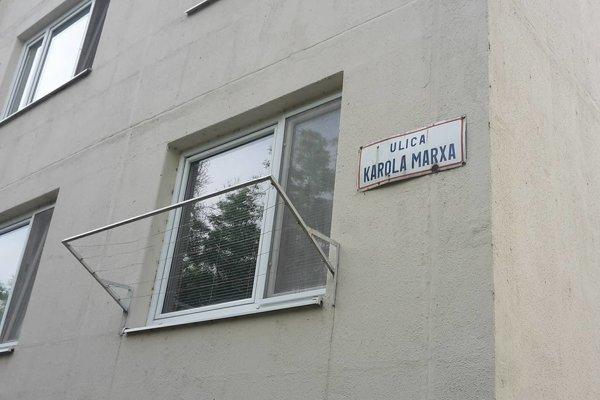 Ulica Karola Marxa patrí na Slovensku k raritným.