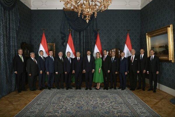Členovia štvrtej vlády Viktora Orbána.