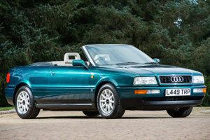 V roku 1994 jazdila princezná Diana s kabrioletom Audi 80.