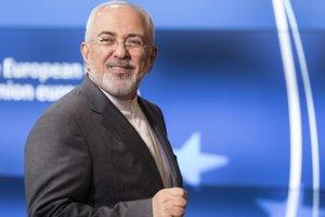 Na snímke iránsky minister zahraničných vecí Mohammad Džavád Zaríf.