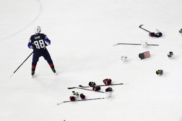 Patrick Kane sa stal najproduktívnejším hráčom MS v hokeji 2018.