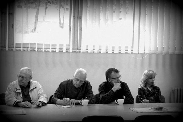 Tlačovka na Komenského. Vedenie zväzu odpovedalo na otázky novinárov, ale aj bardejovských atlétov.